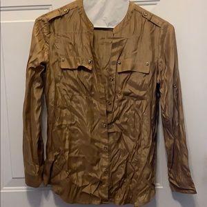 Brown/bronze blouse